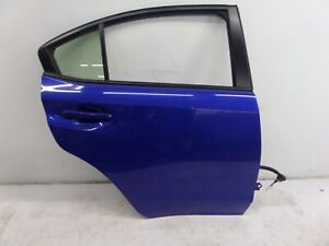 Subaru Impreza WRX Right Rear Door Blue VA 15-20 OEM STI