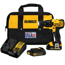 DeWALT DCD780C2R 20V MAX Compact Drill/Driver Kit (Reconditioned DCD780C2)