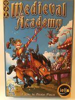 Medieval Academy Board Game by Nicolas Poncin IELLO Games Excellent!