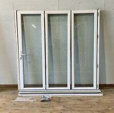 UPVC BIFOLDING DOORS-EXTERNAL-DOUBLE GLAZED-BI FOLDING-BIFOLDS-EXTERIOR-PVCU-pvc