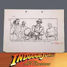 INDIANA JONES & THE LAST CRUSADE, Production Used Storyboard, Young Indy