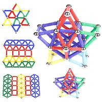 Magnetic Building Blocks Car Auto Construction Kit Kids Wisdom Educational Toy
