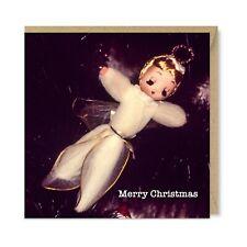 Fallen Angel Unique Vintage Retro Christmas Card - Tree Decoration 1970's