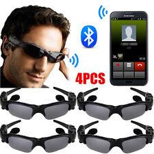 4X Wireless Glasses Bluetooth Sport Sunglass Headset Stereo Music Headphone US Y
