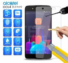 Alcatel OneTouch Idol 4 (5.2 inch) - Transparent Tempered Glass Screen Protector