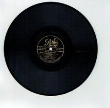 78T 25cm Georges GUETARY Disque Phono Film CAVALIER NOIR -LA + BELLE -PATHE 2216