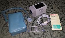 Vintage Telesar 35 Mini Slide Projector, with Lamp, Travel Bag & Slide Carrier
