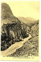 CPA 38 Isère du Bourg d'Oisans à la Grave Le Pont d'Auris et la Romanche