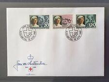 LIECHTENSTEIN FDC 1985 VADUZ 10.6.1985 Red Cross