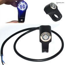 Waterproof 22MM Motorcycle Handlebar Switch Aluminum Alloy with Indicator Light