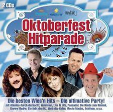 OKTOBERFEST HITPARADE - DIE BESTEN WIES'N HITS - DIE ULTIMATIVE PARTY  2 CD NEU