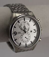 Men's Invicta Specialty Watch Model 0366 Silver Dial in 316L SS Case