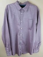 BANANA REPUBLIC Mens Stretch Soft Long Sleeve Casual Dress Shirt Size XL