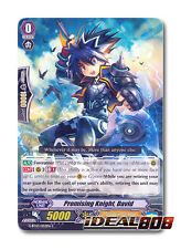 Cardfight Vanguard  x 4 Promising Knight, David - G-BT03/052EN - C Mint