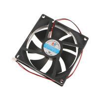 92mm 12V Ordinateur secteur / PC / CPU Ventilateur silencieux Fan 2wire 2pin