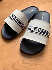 Tommy Hilfiger Women's Slide Sandals White / Dark Blue color Size 7 New