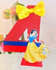 Snow White Letter Number Birthday Party Decoration Princesses 1