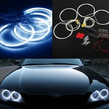 4pcs*131mm Car CCFL LED Angel Eyes Halo Rings for BMW E36 E38 E39 E46 Blue Hot