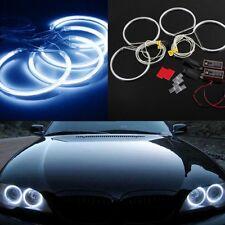 4pcs*131mm Car CCFL LED Angel Eyes Halo Rings for BMW E36 E38 E39 E46 Blue Hot