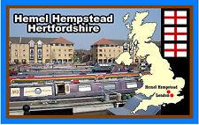 Hemel Hempstead, Hertfordshire - Souvenir Neuheit Kühlschrank-magnet -