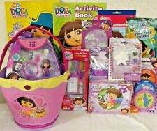 NEW DORA TOY EASTER TOY GIFT BASKET birthday TOYS PLUSH ACTION FIGURE PLAY SET