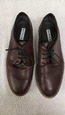 Howick Men's Brown Leather Lace Up Shoes Size 8 (EUR 42)