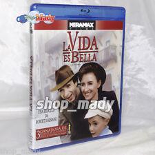 La Vida es Bella - La Vita é Bella - 1 Blu-ray Disc Región A ESPAÑOL LATINO