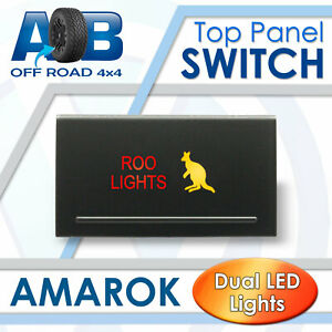 Amarok Push Switch A214 ROOLIGHTS on-off LED 12V 3A for Volkswagen TOP PANEL