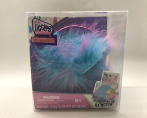 REAL LITTLES HANDBAGS w/6 Surprises (Purple Blue Furry Bag) New! Ready To Ship!