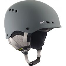 Anon 168938 Mens Talan Snow Ski Helmet Protective Gear Slate Size Large
