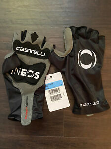 Castelli Aero Race Team Ineos Gloves mitts short finger medium black
