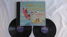 "Pinto Colvig  - 78rpm Album Set - ""Bozo & His Rocket Ship""  - Capitol #DBX-118"