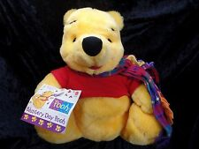 """Blustery Day Pooh With Scarf 13"""" Plush Bear Toy Collectible"""
