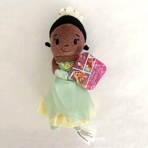 Disney Princess TIANA Stylized 5-inch Bean Plush Doll Princess And The Frog