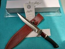 RARE JUNGLEE HATTORI FIGHTER KNIFE WITH ORIGINAL LEATHER SHEATH AND BOX