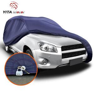 YITAMOTOR Universal SUV Fit Cover Outdoor Waterproof Rain Sun Resistant  W/Lock