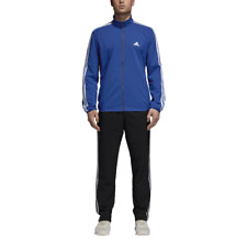 Adidas Men TrackSuit Running Training Athletic WorkOut Gym Light Set Blue CY2310