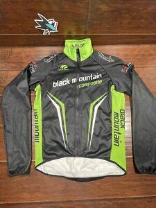 VOLER Men's Denali Thermal Cycling Long Sleeve Jacket Black Mountain Size Medium