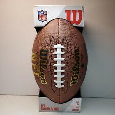 Wilson American Football Ball NFL Bronze Series Official Size 9 Super Grip