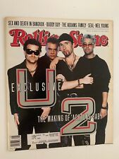 Rolling Stone Magazine Issue 618 Nov 28, 1991 U2 Achtung Baby Neil Young