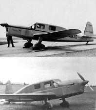 Caudron Simoun C-635 Monoplane Rare Technical Manual 1930's period archive WW2