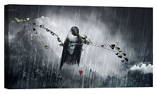 "Epic Graffiti ""Reach"" by Cameron Gray, Giclee Canvas Wall Art, 30""x60"""