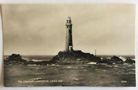 The Longships Lighthouse - Lands End - Real Photo Postcard