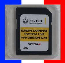 RENAULT CARMINAT LIVE Europe 10.45 CARTE SD TOMTOM GPS 2020