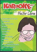 rare salsa DVD Hector Lavoe KARAOKE EMBORRACHAME DE AMOR cantante ESCARCHA gente