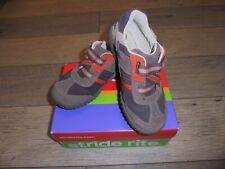 Stride Rite SRT PS Harvey brown & orange shoes boys 11.5 W