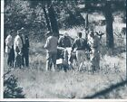 1960 Press Photo Douglas County Officers FBI Adolph Coors Investigators 8X10
