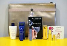 Guerlain Set - Super Aqua Serum Cleansing Milk Rouge Automatique 165 Shalimar