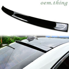 Painted For BMW F10 5 Series 3D Type Rear Roof Spoiler Wing Sedan 528i 535i #475