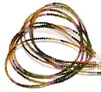 6x4MM Faceted Teardrop Shape Briolettes Full 8 Inch Strand Origin Brazil Natural Gemstone Super Quality Multi Color Tourmaline Approx